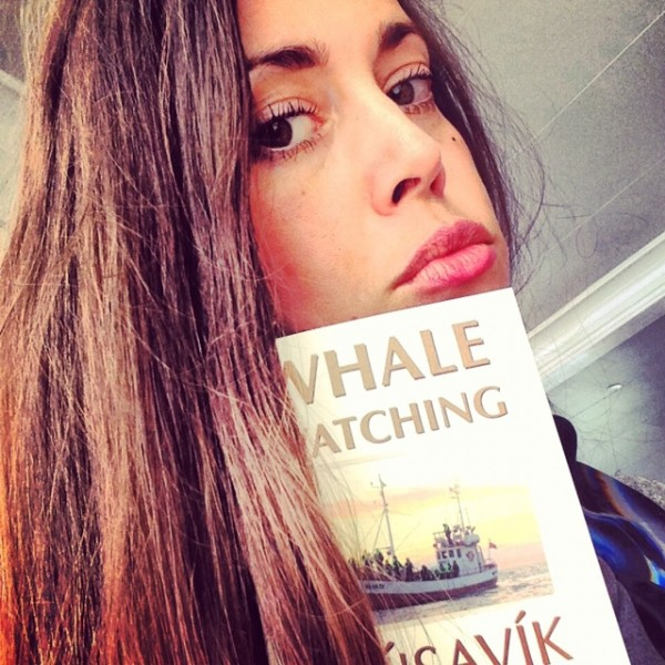 Sandra Bauknecht Selfie before whale watching