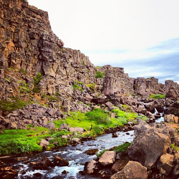 Thingvellir National park- Almannagja Graben