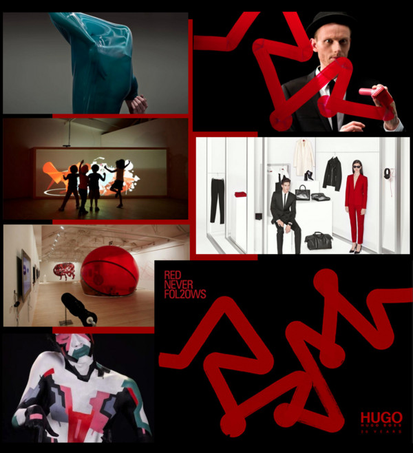 hugo Boss-red never follows