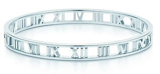 Atlas Bangle sterling silver