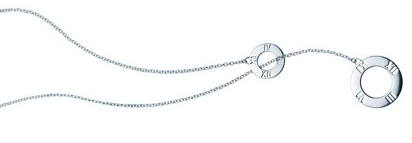 Atlas Necklace Silver