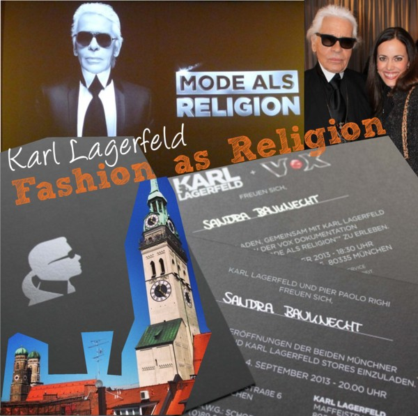 Cover Karl Lagerfeld-Fashion as Religion