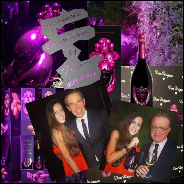 Dom Pérignon x Jeff Koons Cover Launch Event NYC Sandra Bauknecht
