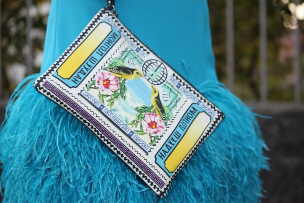 Mary Katrantzou Clutch