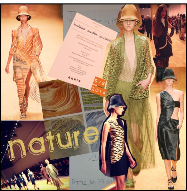 Nature Akris SS2014 Cover