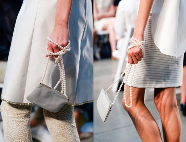Thakoon SS2014 Pearl bags