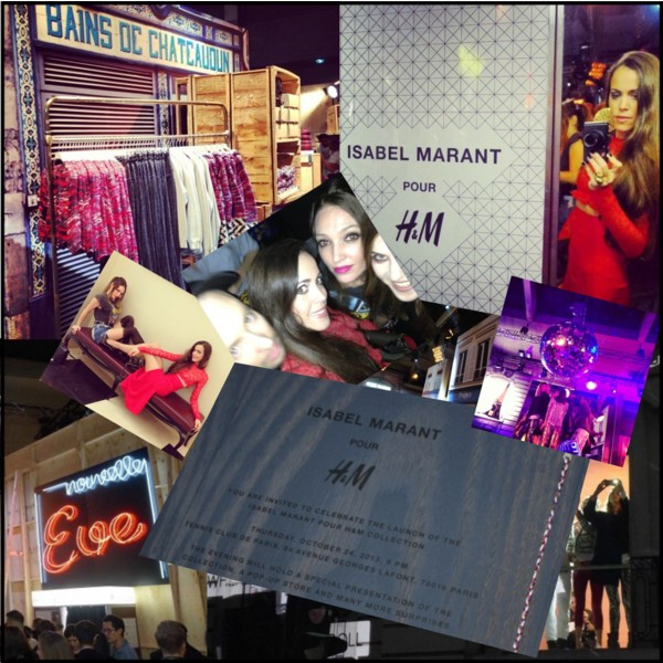 Cover Isabel Marant for H&M Launch Party in Paris - Sandra Bauknecht