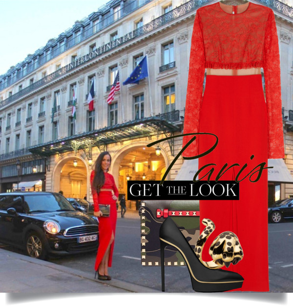 Get the Look-Sandra Bauknecht in Alessandra Rich