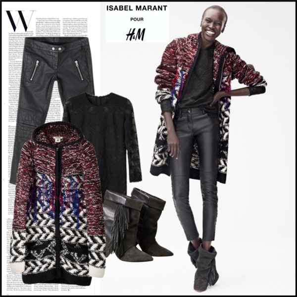 Isabel Marant for H&M Look 1