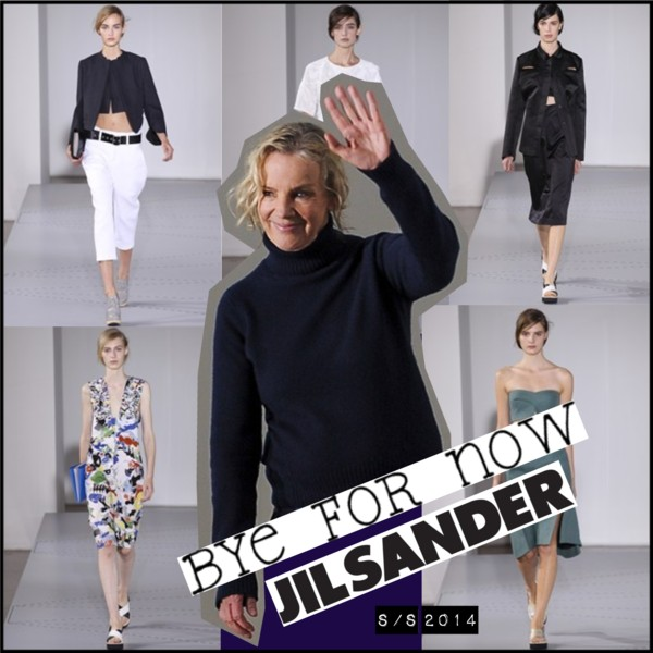 Jil Sander Leaves for the third time