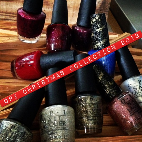 OPI Christmas 2013 Collection