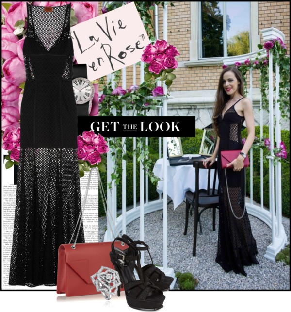 Sandra Bauknecht- Get the Look- La Vie en Rose