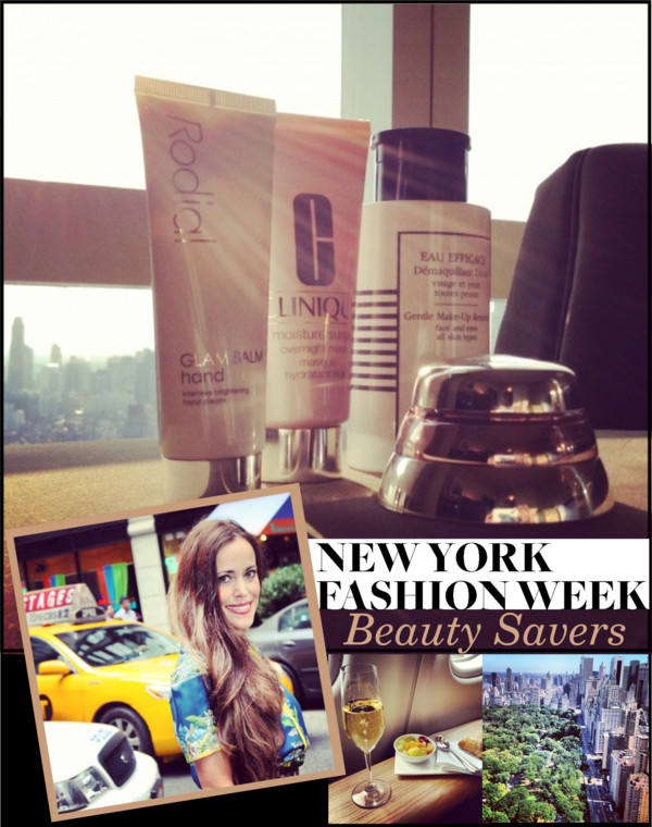 Sandra Bauknecht - New York Fashion Week Beauty Savers