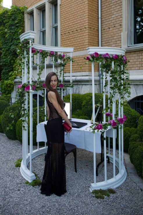 Sandra Bauknecht Piaget Rose Garden Party