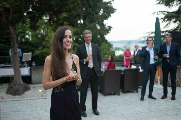 Sandra Bauknecht Piaget Rose Garden Party Speech 2