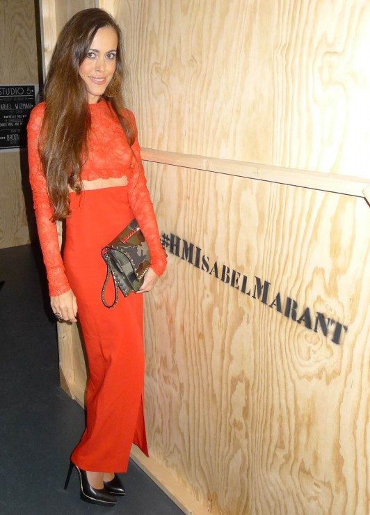 Sandra Bauknecht attends the Isabel Marant for H&M Launch Party in Paris