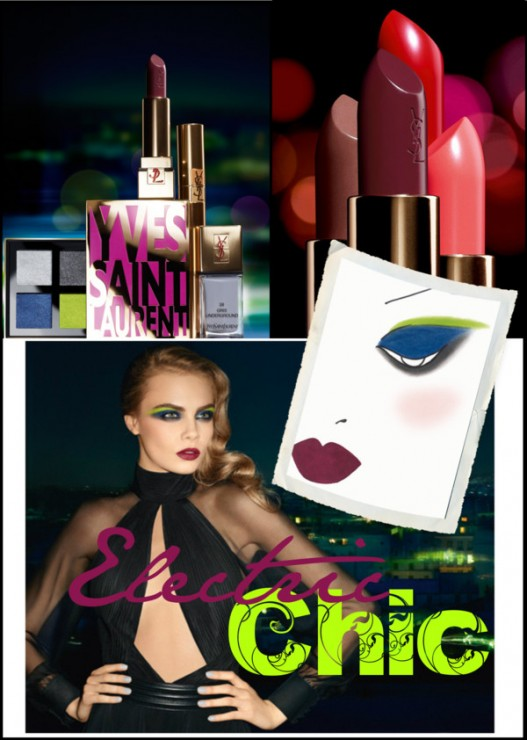 YSL Electric Chic Fall 2013
