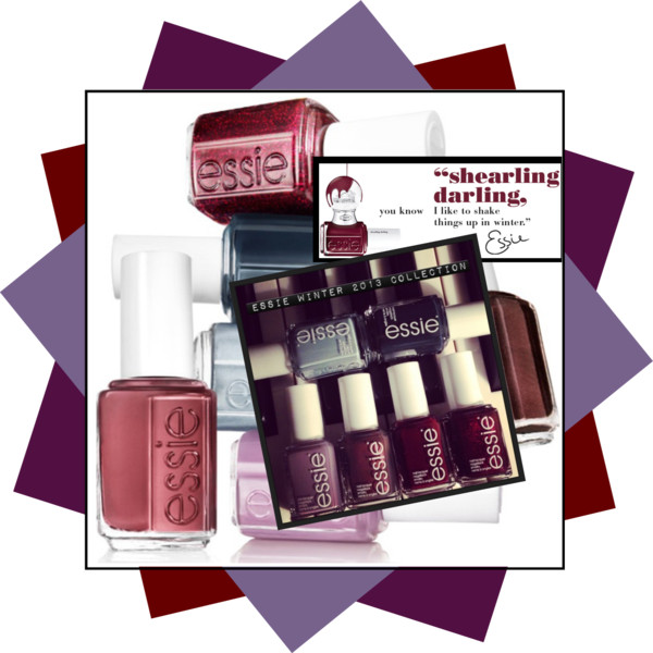 Essie Winter 2013 Collection Cobver