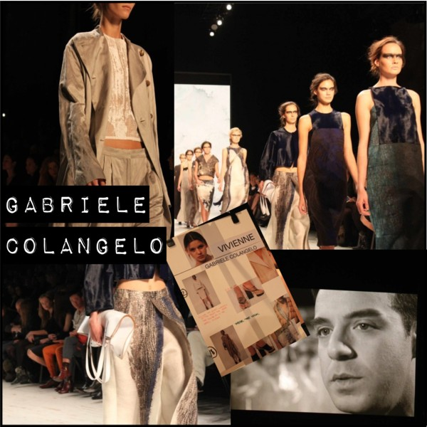 Gabriele Colangelo at Mercedes Benz Fashion Days Zurich 2013