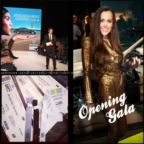 Opening Gala Mercedes Benz Fashion Days Zurich 2013-Sandra Bauknecht