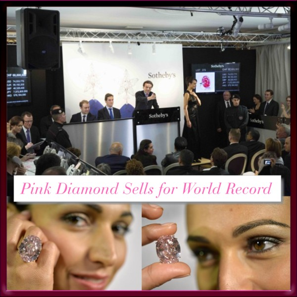 Pink Diamond Sothebys