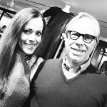 Sandra Bauknecht and Tommy Hilfiger