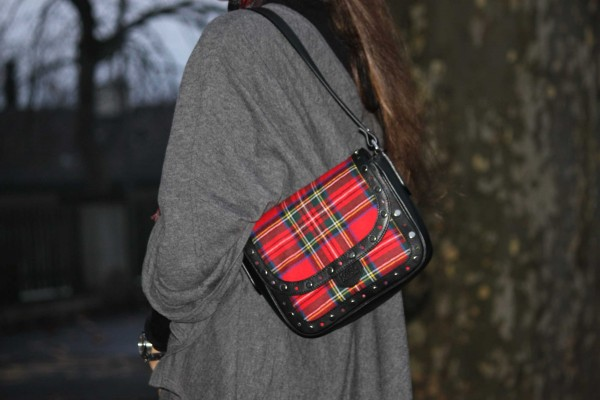 Karl Lagerfeld Plaid Bag