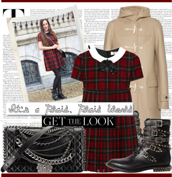 get the look - plaid world - sandra bauknecht