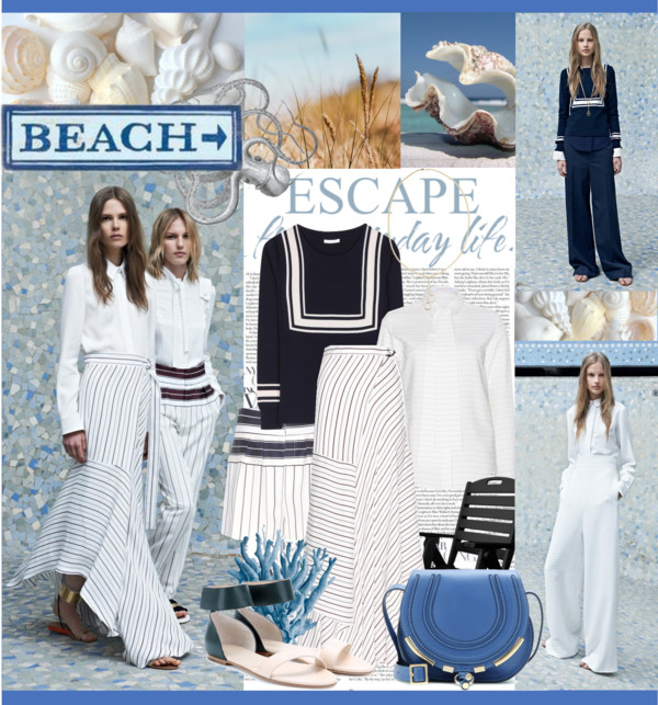 Chloé Resort 2014 Nautical