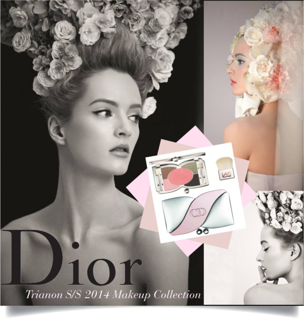 Dior Trianon SS2014 Makeup Collection Cover