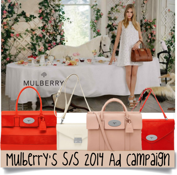 Mulberry S:S 2014 Ad Campaign-Cara