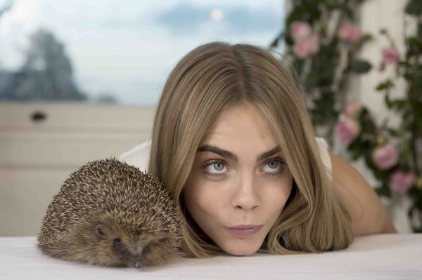 Mullbery_SS14_cara with holly the hedgehog1