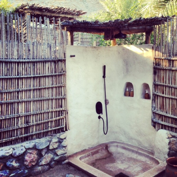 Outdoor Shower Zighy Bay