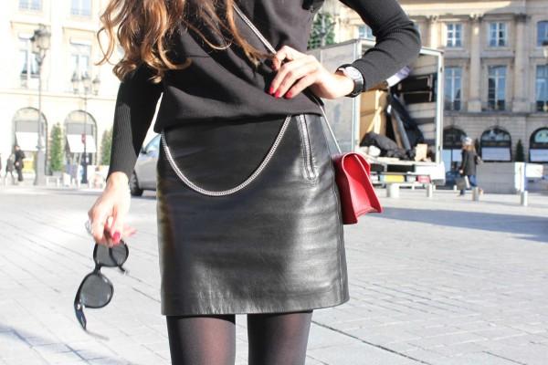 Saint Laurent Skirt, Top, Bag