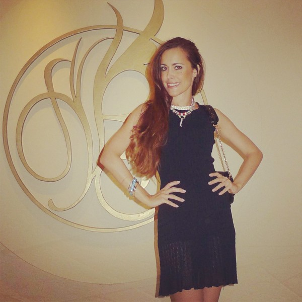 Sandra Bauknecht at lebua Towers