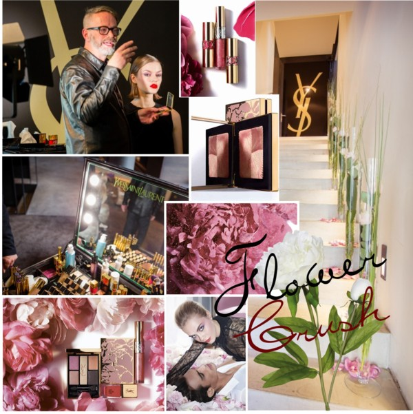 YSL Flower Crush Makeup Spring 2014 Collection Press Launch