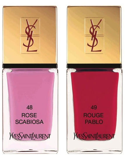YSL Flower Crush Nail Polishes