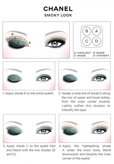 CHANEL-Eye-Makeup-SMOKY-EYES-guide