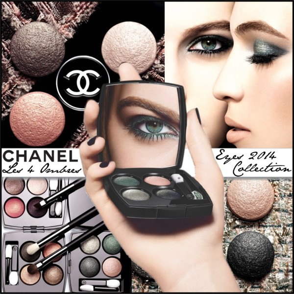Chanel Les 4 Ombres Eyes 2014 Collection