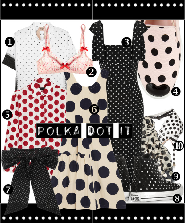 Polka Dot It Products SS2014