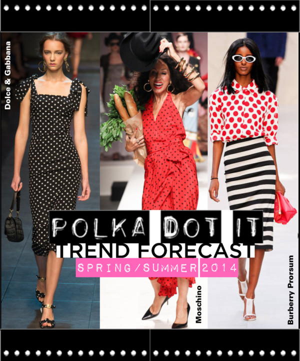 Polka Dot It Trend SS2014 Cover