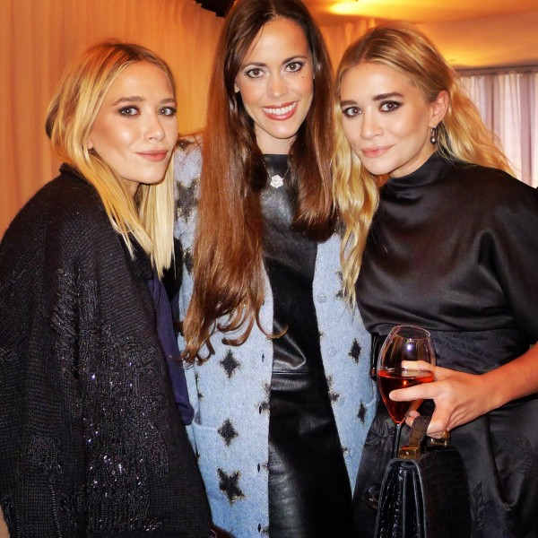 Sandra Bauknecht with The Olsen twins