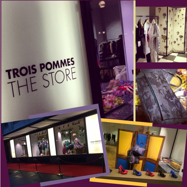 Trois Pommes The Store Cover