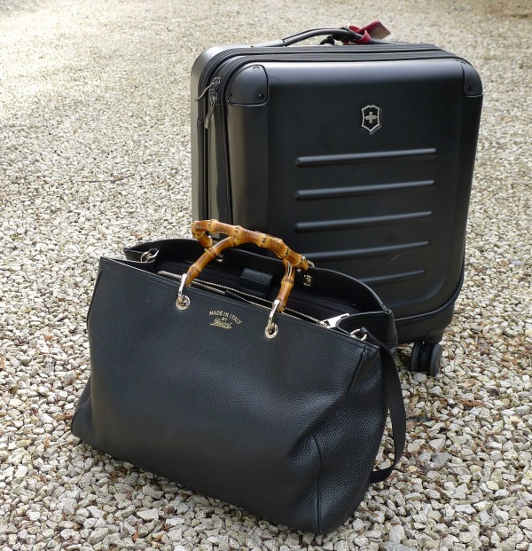 Victorinox Trolley & gucci bag