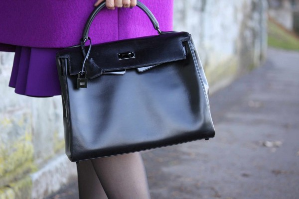 kelly So black bag by Hermes