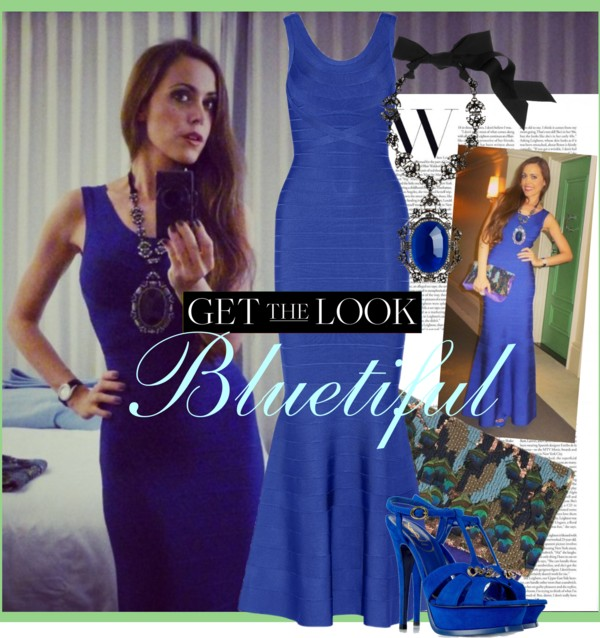 Bluetiful-Sandra Bauknecht in Hervé Leger