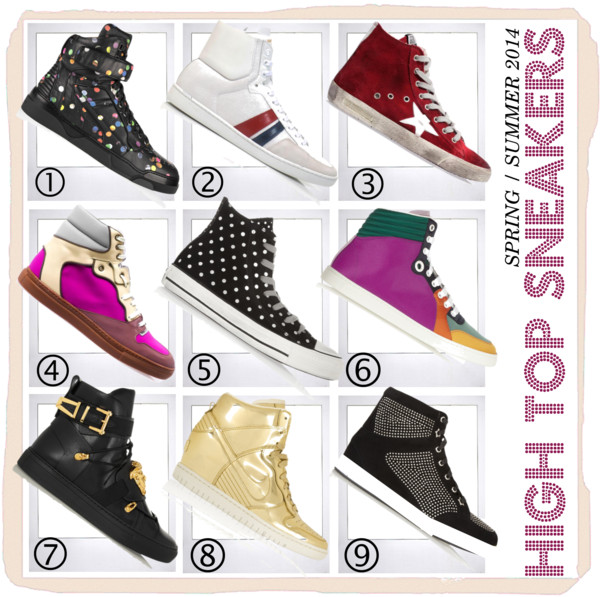 High Top Sneakers 2014