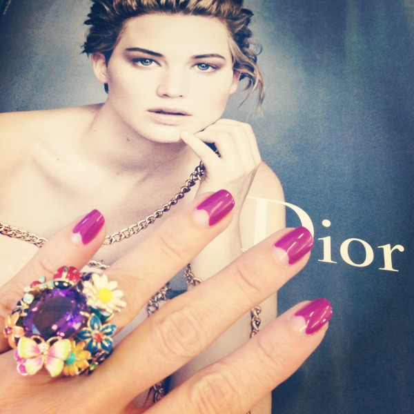Nails Dior Addict Event