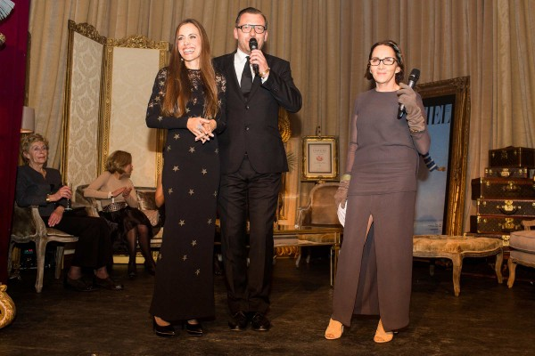 Party L'Officiel Speech - Sandra Bauknecht - Marie-Jose Suesskind-Jalou