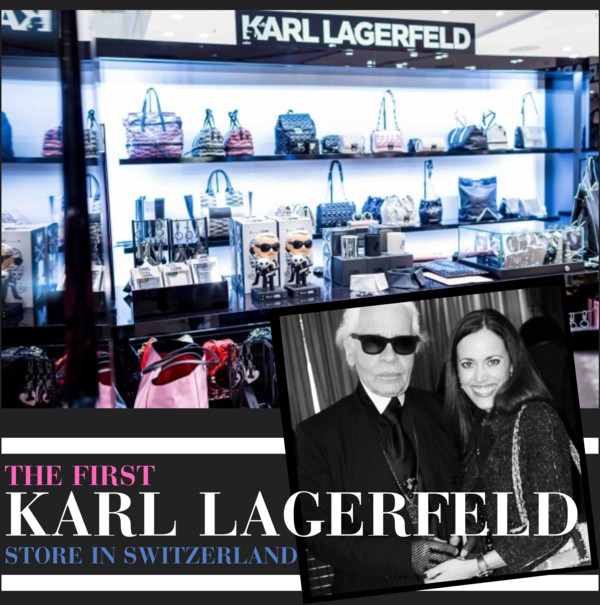 The First Karl Lagerfeld Store in Switzerland revealed by Sandra Bauknecht
